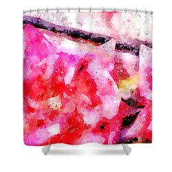 Isaiah 41 10 I Will Strengthen Thee Shower Curtain