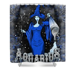 The Water Bearer Aquarius Spirit Shower Curtain