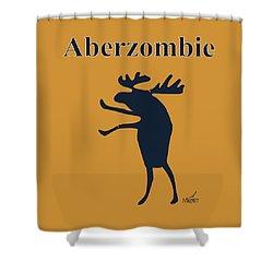 Aberzombie Shower Curtain