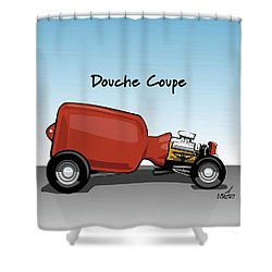 Douche Coupe Shower Curtain