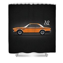 The Csl Batmobile Shower Curtain