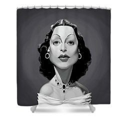 Celebrity Sunday - Hedy Lamarr Shower Curtain