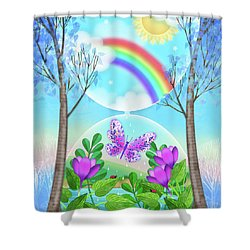 Sweet Dreams Shower Curtain