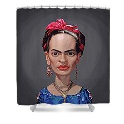 Celebrity Sunday - Frida Kahlo Shower Curtain