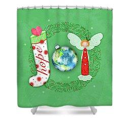 Joy Of Christmas Shower Curtain