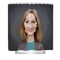 Celebrity Sunday - J.k.rowling Shower Curtain