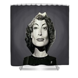 Celebrity Sunday - Joan Crawford Shower Curtain