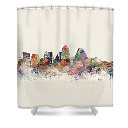 Austin Skyline Shower Curtain
