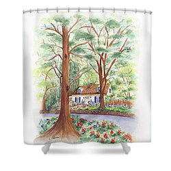 Main Street Charmer Shower Curtain