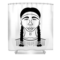 Minnehaha Shower Curtain