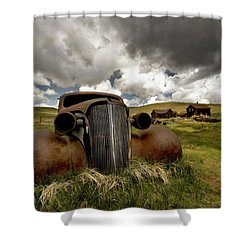 Old  Car Bodie State Park Shower Curtain