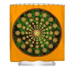 Mandala Radium 1 Shower Curtain