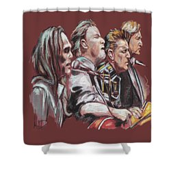 The Eagles Shower Curtain