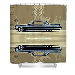 1961 Cadillac Fleetwood Sixty-special Shower Curtain