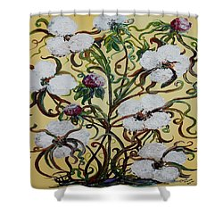 Cotton #1 - King Cotton Shower Curtain
