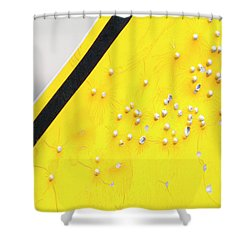 That's Not Braille Shower Curtain by Bill Kesler