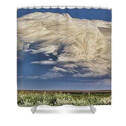 Cloud Brew Shower Curtain