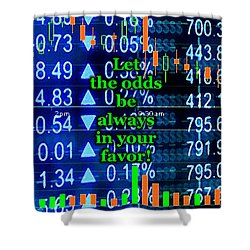 Stock Exchange Shower Curtain