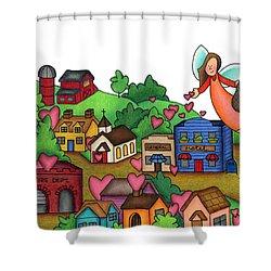Seeds Of Love Shower Curtain by Sarah Batalka