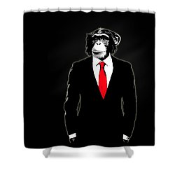Domesticated Monkey Shower Curtain