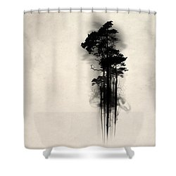 Enchanted Forest Shower Curtain by Nicklas Gustafsson