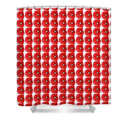 Beautiful Red Poppy Papaver Rhoeas Shower Curtain by Marianne Campolongo