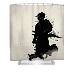 Samurai Shower Curtain