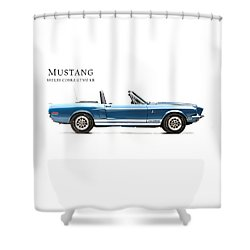 Shelby Cobra Gt500 Kr Shower Curtain by Mark Rogan