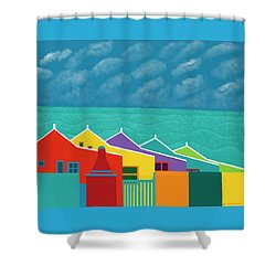 Aruba Fantasy  Shower Curtain