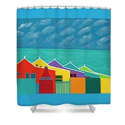 Aruba Fantasy  Shower Curtain