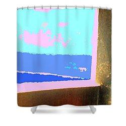 Aruba Shower Curtain by Ian  MacDonald