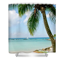 Aruban Oasis Shower Curtain