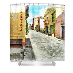 Arzachena Garibaldi Street Shower Curtain