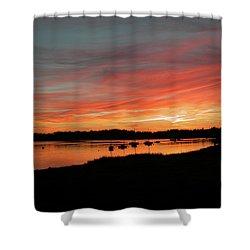 Arzal Sunset Shower Curtain