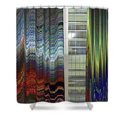 As Events Unfold Shower Curtain