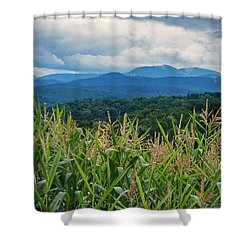 Shower Curtain featuring the photograph As High As An Elephants Eye by Kendall McKernon