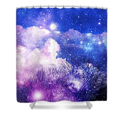 As It Is In Heaven Shower Curtain