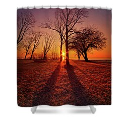 Shower Curtain featuring the photograph As Sure As The Sun Will Rise by Phil Koch
