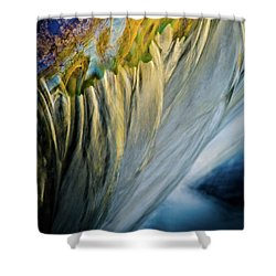As The Color Runs Shower Curtain by Neil Shapiro
