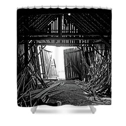 As Time Goes By Shower Curtain by AugenWerk Susann Serfezi