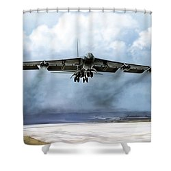 Ascension Shower Curtain by Peter Chilelli