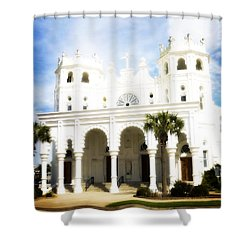 Ascension Sunday Shower Curtain