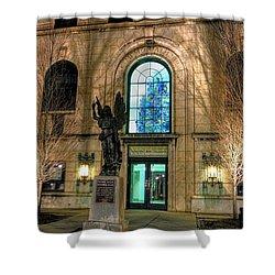 Asheville Art Museum Shower Curtain