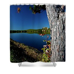 Ashley Reservoir Shower Curtain