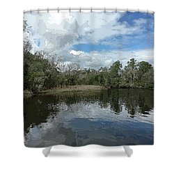Ashley River Shower Curtain