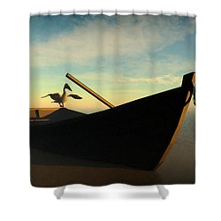 Ashore... Shower Curtain
