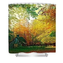 Ashridge Autumn Shower Curtain