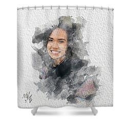 Asiah Shower Curtain