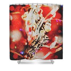 Asian Dragon Festival Shower Curtain