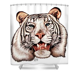 Asian King Shower Curtain